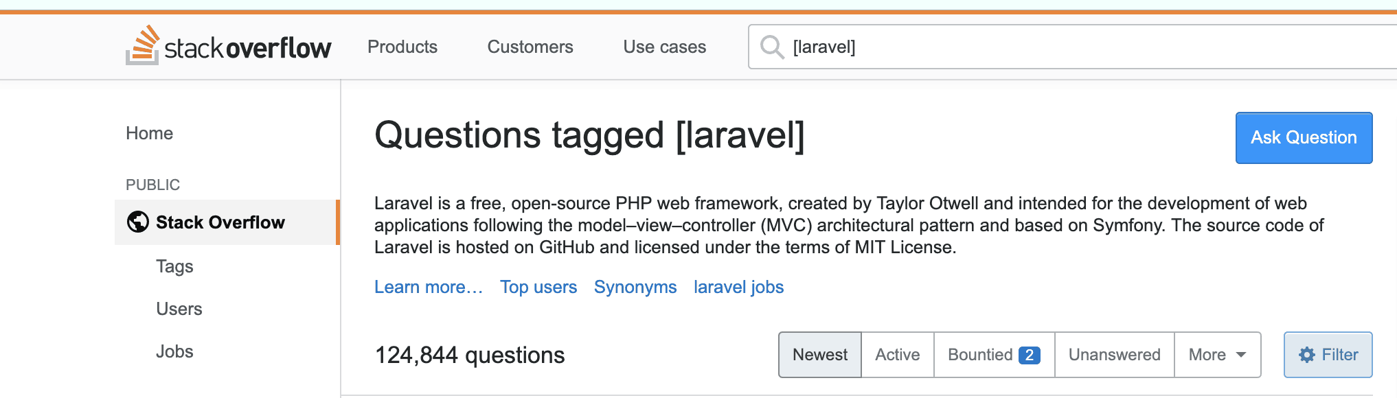 laravel_Stack_Overflow